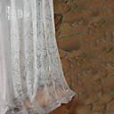 Dvije zavjese Prozor Liječenje Zemlja / Moderna / Neoclassical / Mediterranean / Rococo / Barroco / Europska / Dizajnerske Bedroom