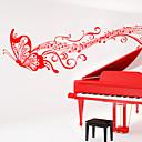 Hudba / Módní Samolepky na zeď Samolepky na stěnu , PVC 25cm*110cm