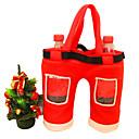 nova 2015 Božićni ukrasi crvena koks bocu poklon vrećice 28 cm * 36cm