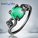Prstenje Moda Party Jewelry Kubični Zirconia Žene Klasično prstenje 1pc,Univerzalna veličina Crna