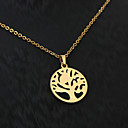 Ogrlice Ogrlice s privjeskom Jewelry Vjenčanje / Party / Dnevno / Kauzalni Tikovina Zlatna 1pc Poklon