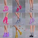 Princeza Cipele Za Barbie lutka Smeđa / Srebrna / Roza / Žuta Cipele Za Djevojka je Doll igračkama