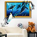 動物 / 3D ウォールステッカー 3D ウォールステッカー , PVC 60*90cm
