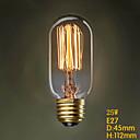 t45 220v 25w fil rectiligne terrasse couloir ampoule Edison Edison de la personnalité lampe déco rétro d'art