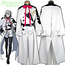 Inspirirana Serafin od kraja Abel Nightroad Anime Cosplay nošnje Cosplay Suits Kolaž BijelaTop / Hlače / Gloves / Pojas / More