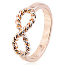 Prstýnky Párty / Denní / Ležérní Šperky Postříbřené / Pozlacené Dámské Prsteny s kamenem 1ks,7