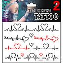 JT - Tetovaže naljepnice - Others - za Beba / Dijete / Žene / Girl / Muškarci / Odrasla osoba / Boy - Uzorak - 17*16cm -Non Toxic /