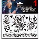 1 Tetovaže naljepnice Nakit serije Animal Serija Flower Serija Totem Series OthersNon Toxic Uzorak Blistati Donji dio leđa Waterproof