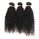 人間の髪編む ユーラシアンヘア Kinky Curly 12ヶ月 1個 ヘア織り