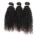 Ljepota 100% djevičansko euroazijske kovrčava kosa neprerađeni kinky kovrčava prirodna boja 95-100g po paketu