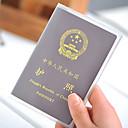 トラベル パスポート&IDホルダー 小物収納用バッグ プラスチック