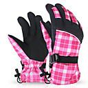 女性用 手袋 レジャースポーツ 保温 / 耐久性 / 防滑り 春 / 秋 / 冬 ピンク / グレー-スポーツ-フリーサイズ