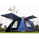 SHAMOCAMEL 3-4 osoba Šator Dvaput Automatski šator Jedna soba šator za kampiranje Ultraviolet Resistant Otporno na kišu Anti-KukciDark
