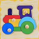 子供の教育関心トランペッターキャッチ木製のジグソーパズル