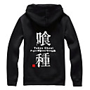 Inspirovaný Tokyo Ghoul Ken Kaneki Anime Cosplay kostýmy Cosplay T-shirt Tisk Czarny Krátké rukávy Kabát