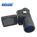 Kelusi 5X42 mm Monokulár Night Vision Goggles Armáda Noční vidění Lovecká Armáda BAK4 Tam Çoklu-kaplamalı Infračervené 6.5°Centrální