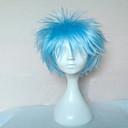 vrhunski blue Cosplay perika sintetičke kose perika čovjeka kratka kovrčava perika animirani strana perika 073a