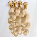 Ljudske kose plete Brazilska kosa Tijelo Wave 6 mjeseci 3 komada kosa isprepliće