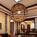 12W Závěsná světla ,  Retro Ostatní vlastnost for LED Dřevo / bambus Obývací pokoj / Ložnice / Jídelna / studovna či kancelář / Chodba
