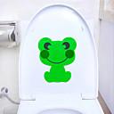 かわいい動物のトイレのステッカーのステッカー