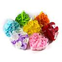 9pcs mirisne cvijet kupka tijelo sapun ružinih latica jewery prsten srce oblik kutije (Random boja)