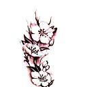 ボディーアート防水一時的な入れ墨の美しいバラのタトゥーステッカー卸売