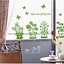 Botanický motiv / Zátiší / Módní / Volný čas Samolepky na zeď Nálepky na zeď zrcadlové,PVC 60*45*0.1