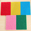 (色ランダム)10個/セットカラー高効率精練布のクリーニングキッチンぼろ強い除染