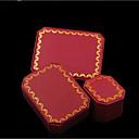 Kutije za nakit Tekstil 1pc Crvena