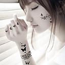 5 Tetovací nálepky Řada šperků / Zvířecí řada / Květinová řada / Totemová řada / Ostatní / Řada Cartoon Non Toxic / Vzor / Waterproof