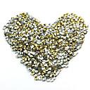 100pcs 3d trg piramida metalik nail art ukrasa dugmad zlato srebro atraktivna