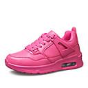 ženske cipele tila pada stanovi patike športske ravna peta drugima crna / crvena / bijela tenisica