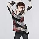 punk rave m-001 ženske vintage / sexy neelastična srednje dugih rukava pulover