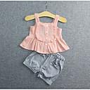 Dijete Komplet odjeće Ležerno/za svaki dan,Jednobojni-Pamuk-Proljeće-