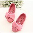 アウトドア-PUレザー-フラットヒール-靴を点灯-フラット-イエロー ピンク ダークレッド
