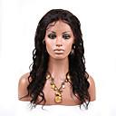 brazilský lidský vlas panenský přirozená barva zvlněné krajky paruka krajky vpředu paruka s baby vlasy