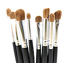 8pcs Četka Setovi / Kist za sjenilo / Contour Brush Pony Brush / Konj Professzionális / Konj kose Others