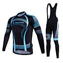 MALCIKLO® Muškarci Dugi rukav BiciklProzračnost / Quick dry / Prednji Zipper / Podesan za nošenje / Visoka prozračnost (> 15.001 g) /