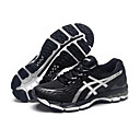 ASICS GEL-NIMBUS 17 Cushioning Road Running Shoes Men's Breathable Sneakers Black/White 40-45