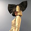modni kratke ravne bijele crne ombre boji afro žene cosplay sintetičkih perika