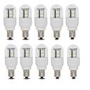 3W E14 / E12 LED okrugle žarulje T 15 SMD 2835 385 lm Toplo bijelo / Hladno bijelo AC 220-240 V 10 kom.