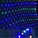 vedly sítě rozsvítí vánoční osvětlení vodotěsné kolorizovanou 1,5 * 1,5 M96 objímku žárovky