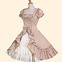 スカート 甘ロリータ プリンセス コスプレ ロリータドレス ピンク グリーン 蝶結び 半袖 ミドル丈 ドレス のために コットン