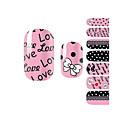 yemannvyou®14pcs móda krásný bowknot nail art třpytky samolepky b1036