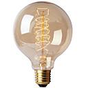 Ecolight® e27 40w 2700k teplá bílá loft retro průmyslový žárovka žárovka edison (ac220 ~ 265v)