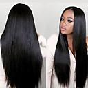 joywigs módní nezpracovaný 100% panenský rovné lidské vlasy paruka pro černé ženy