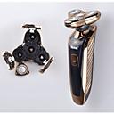 Električni brijač Muškarci Lice Električni Maziva dozator / Pokretna glava Osušite brijanja Nehrđajući čelik other