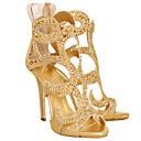 女性-ドレスシューズ パーティー-スエード-スティレットヒール-コンフォートシューズ アイデア クラブシューズ 靴を点灯-ブーツ-ブラック