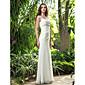 Lanting Bride® Trapèze Petites Tailles / Grandes Tailles Robe de Mariage - Chic & Moderne / RéceptionPrintemps 2014 / Inspiration