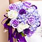 """Cvijeće za vjenčanje Krug Roses Buketi Vjenčanje Svila Crvena 11.02 """"(Approx.28cm)"""